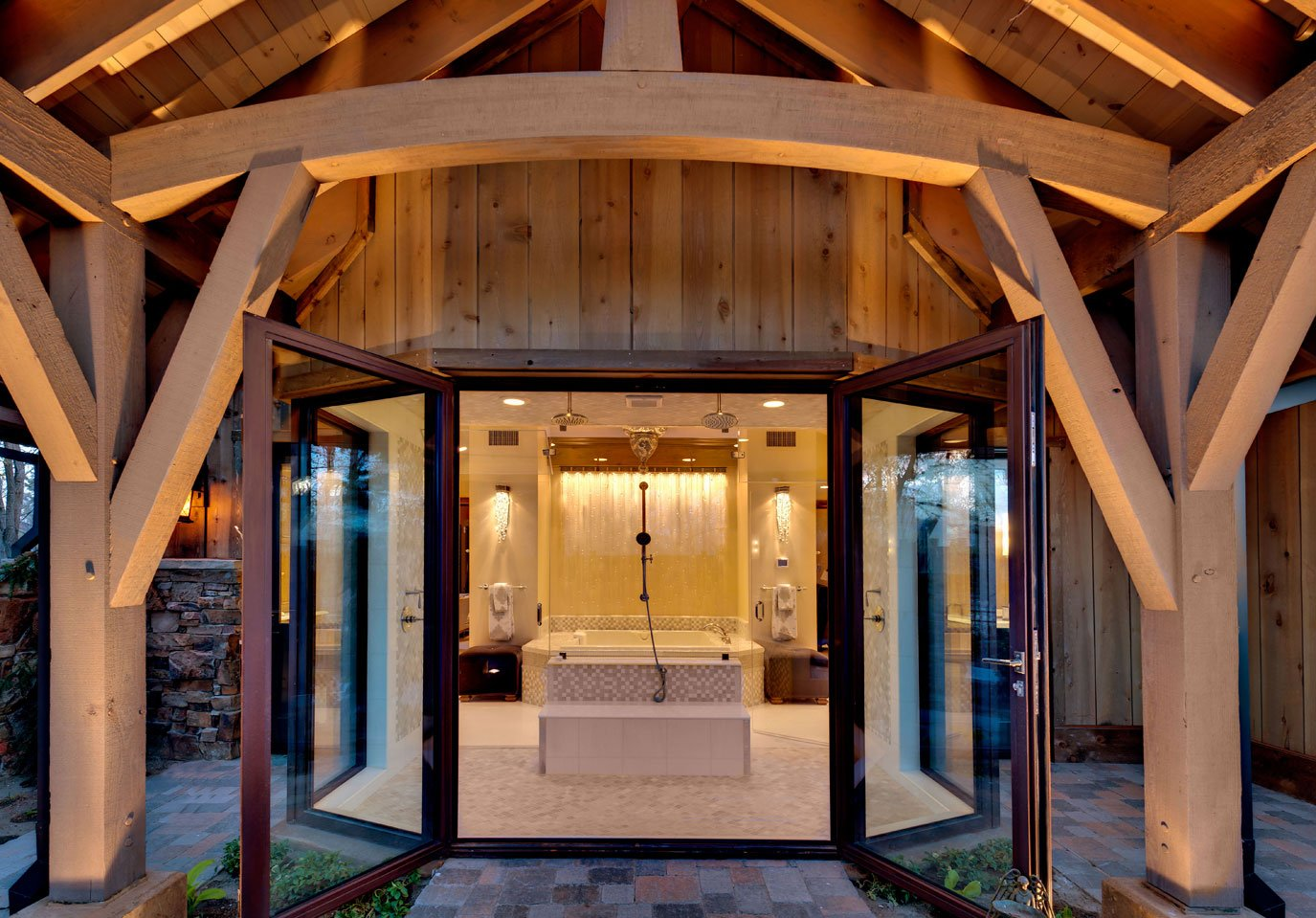 Green home built to LEED standards by Dale Cox Architects