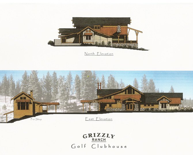 Grizzly Ranch Clubhouse, Portola, CA by Dale Cox Architects