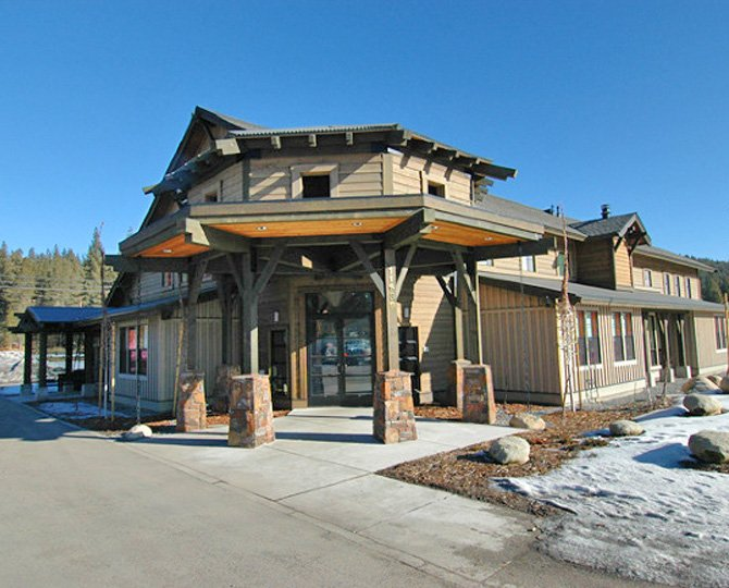 Plumas Bank in Truckee, CA designed by Dale Cox Architects