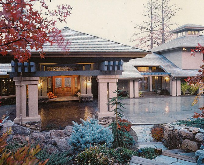 Prim Residence, Reno, NV designed by Dale Cox Architects