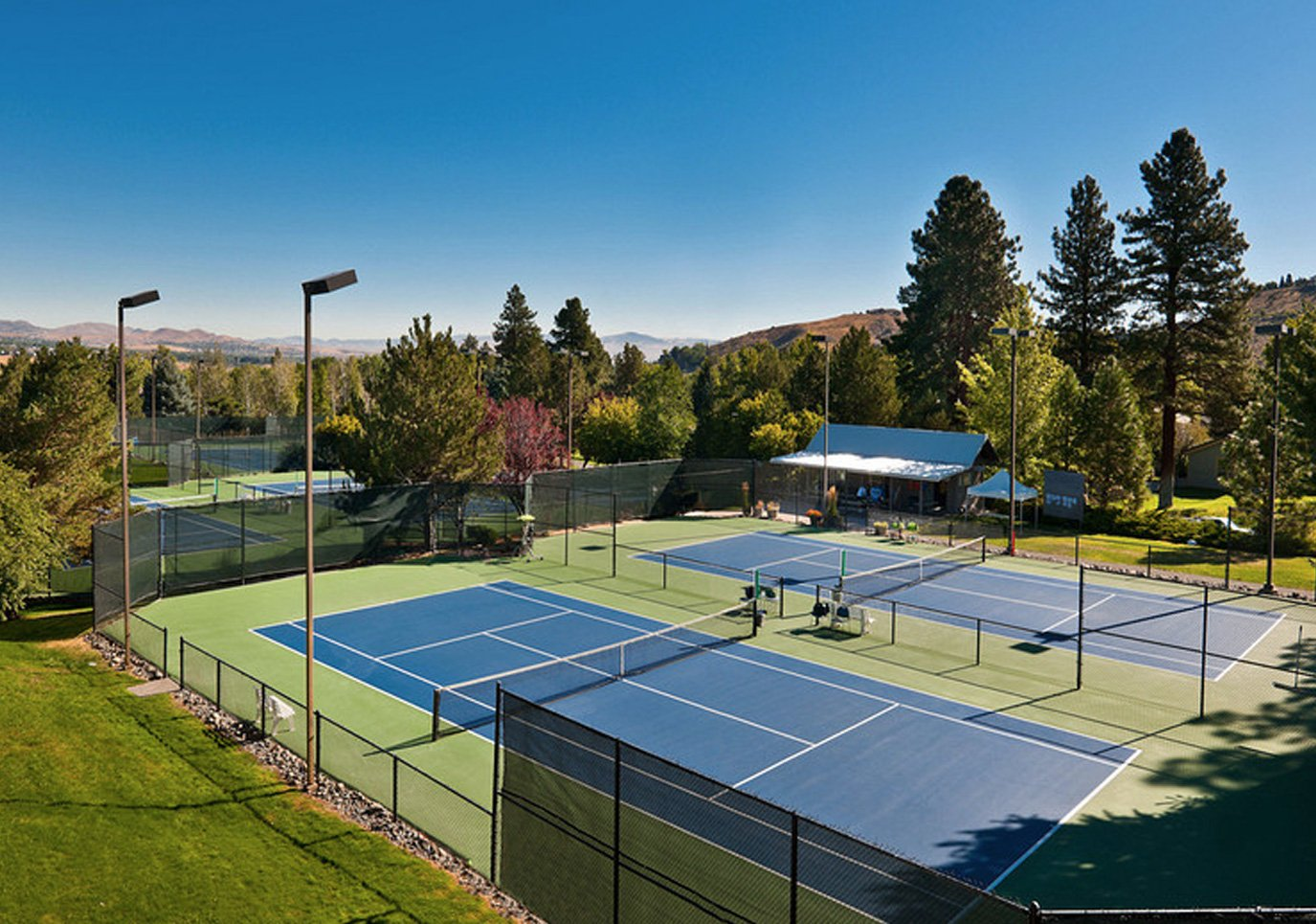 Caughlin Club, a private community clubhouse in Reno, NV designed by Dale Cox Architects