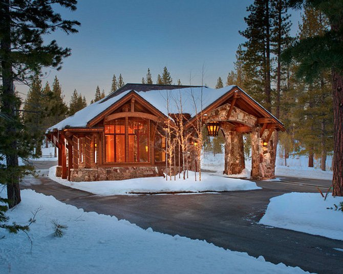 Luxurious Townhomes at Schaffer's Mill in Timilick, Truckee, CA designed by Dale Cox Architects