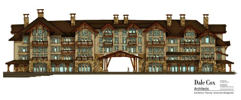 large-resort-building